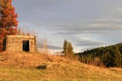 British Columbia Ranch Cabin 2811 Fall © Ann DeMuth