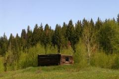 British Columbia Ranch Cabin 2825 Fall © Ann DeMuth