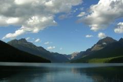Bowman Lake 4113 Glacier Nat. Pk © Ann DeMuth