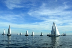 Oriental, NC New Years Day Sailing © Ann DeMuthRegatta