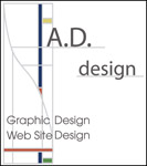 A.D.design logo, Graphic Design Web Site Design