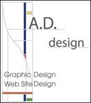 A.D.design logo, Graphic Design Web Site Design