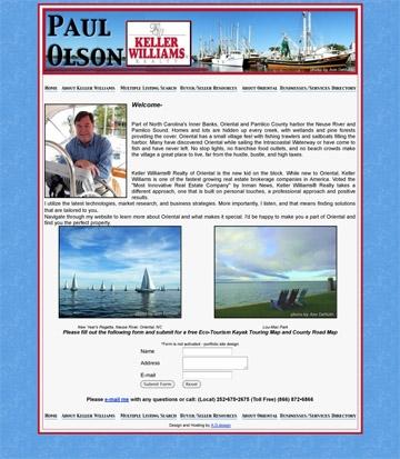Realtor, NC web site