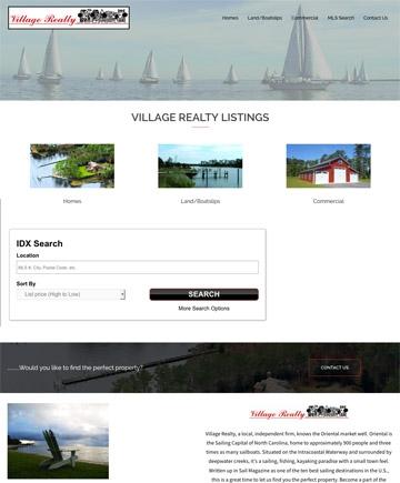 Realtor/Broker, NC web site