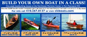 Ad for Chesapeake Light Craft by A.D.design for 48North