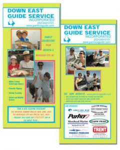 Rack Card for Guide Service, NC, Panama, Costa Rica by A.D.design