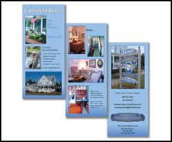 Desktop Publishing A.D.design brochure