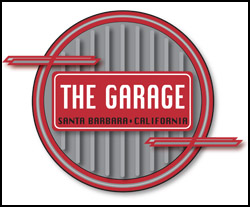 Logo for The Garage in Santa Barbara, CA