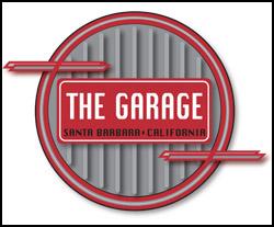 Logo for The Garage in Santa Barbara, CA